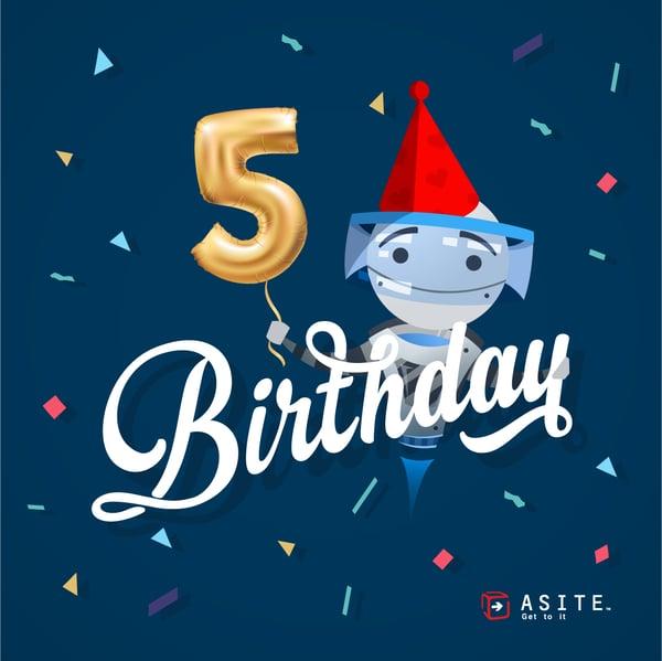 Adoddle 5th Birthday 2