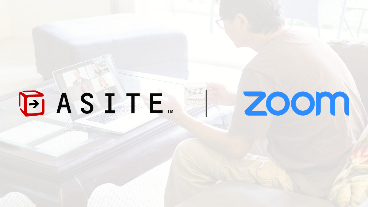 Social - Asite and Zoom Integration