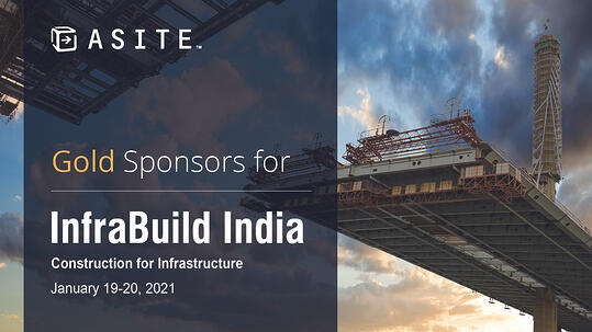 Social - Asite are Gold Sponsors for Infrabuild India 2021-1