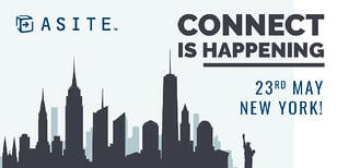 Asite's Connect is happening on the 23rd May in New York!