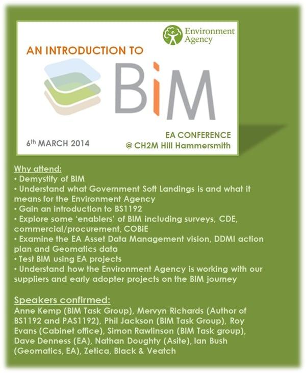 EA BIM Conference Flyer