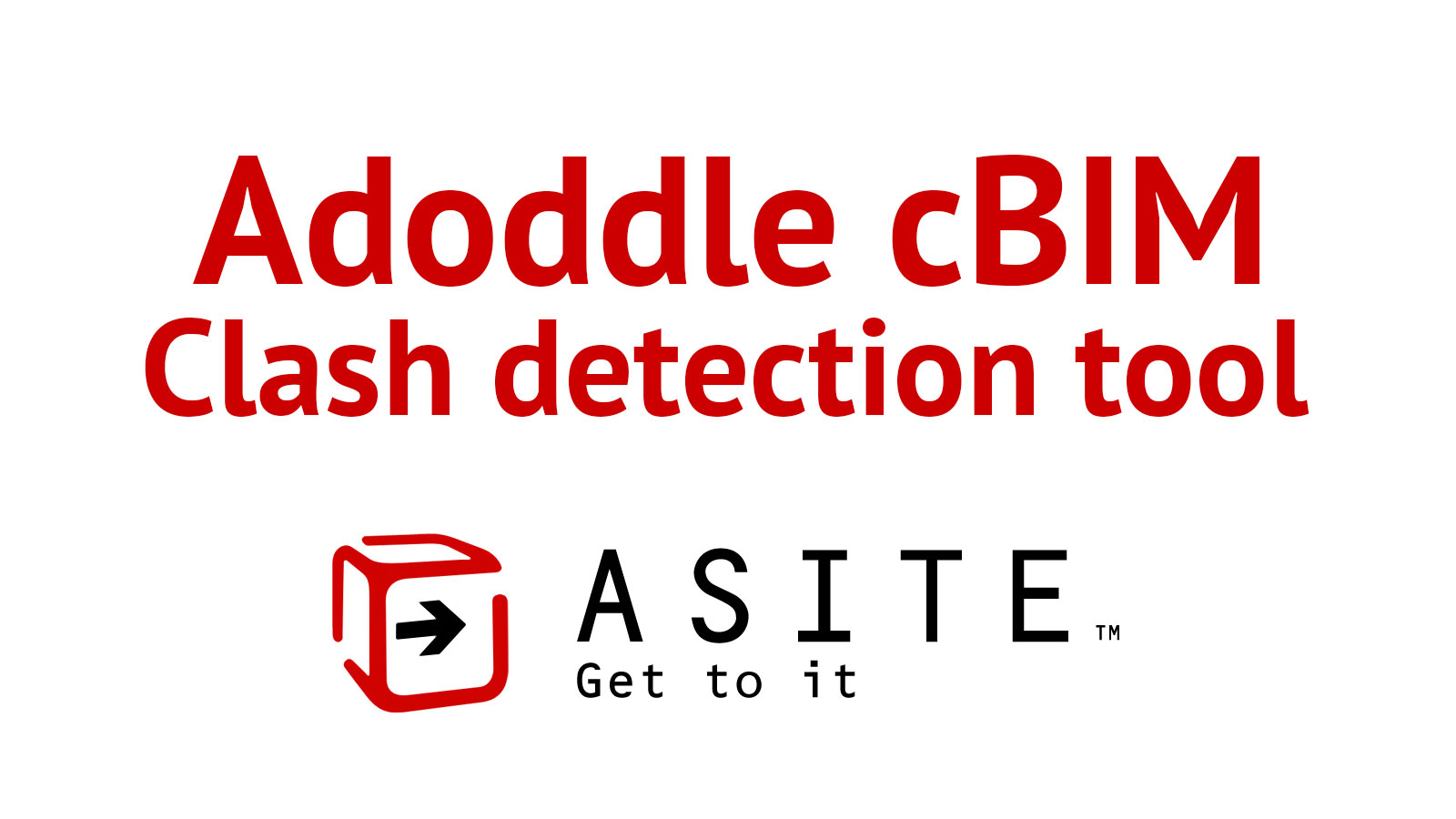 Adoddle cBIM Clash detection tool introduced!