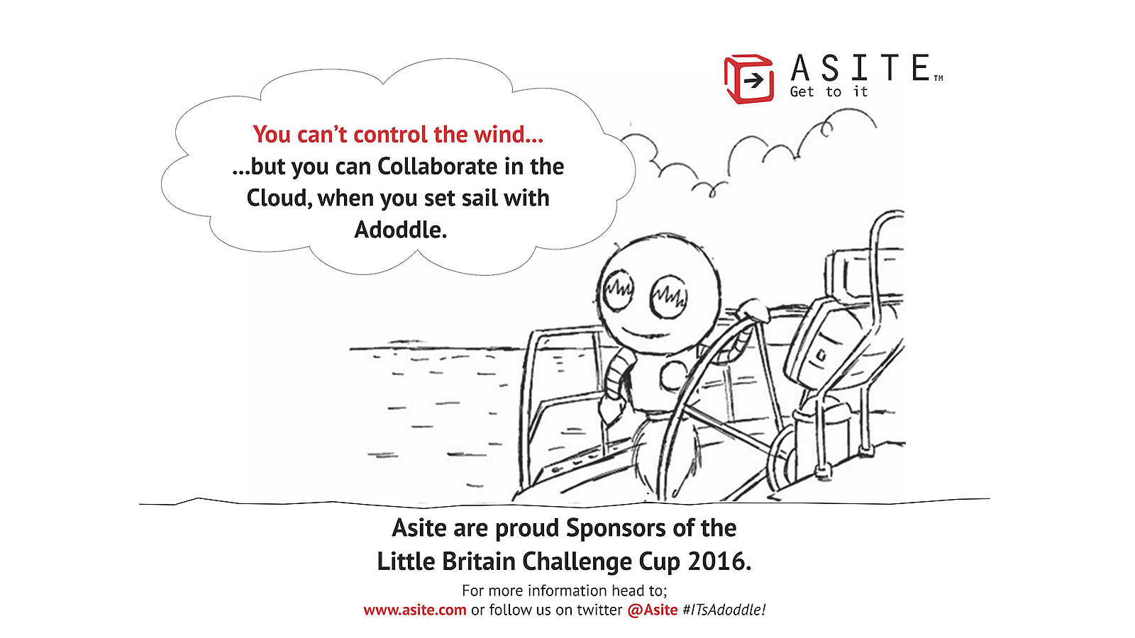 Asite are Silver Sponsors of The Little Britain Challenge cup for the 3rd year running.