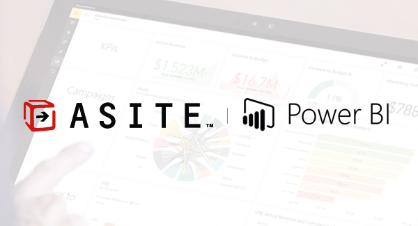 Asite announces new integration with Microsoft Power BI