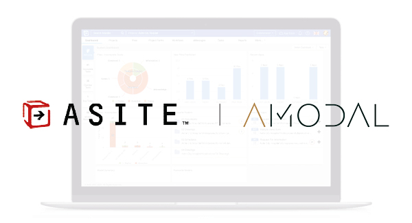 Amodal, information management service provider for the built environment, joins the Asite Ecosystem