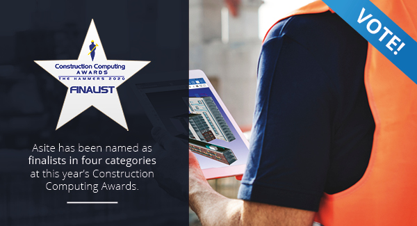 Asite Named as Finalists in Construction Computing Awards 2020