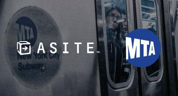 Asite and MTA partner up for a major project based in New York City