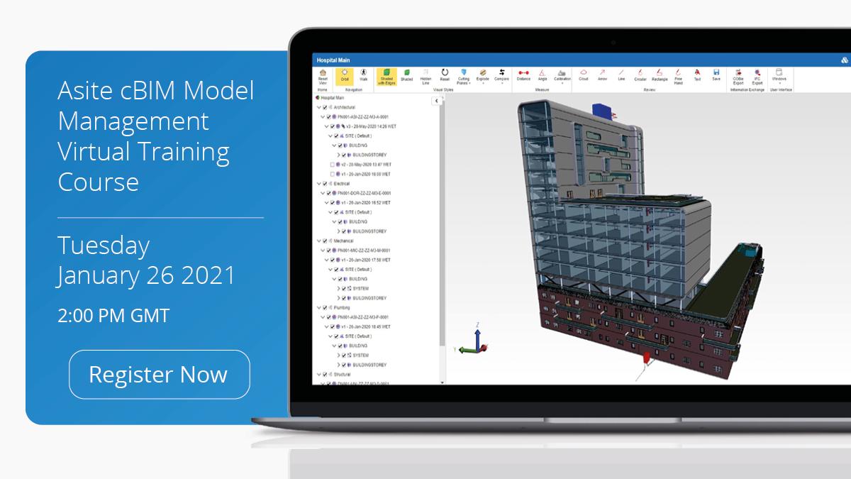 Asite cBIM Model Management Virtual Training Course