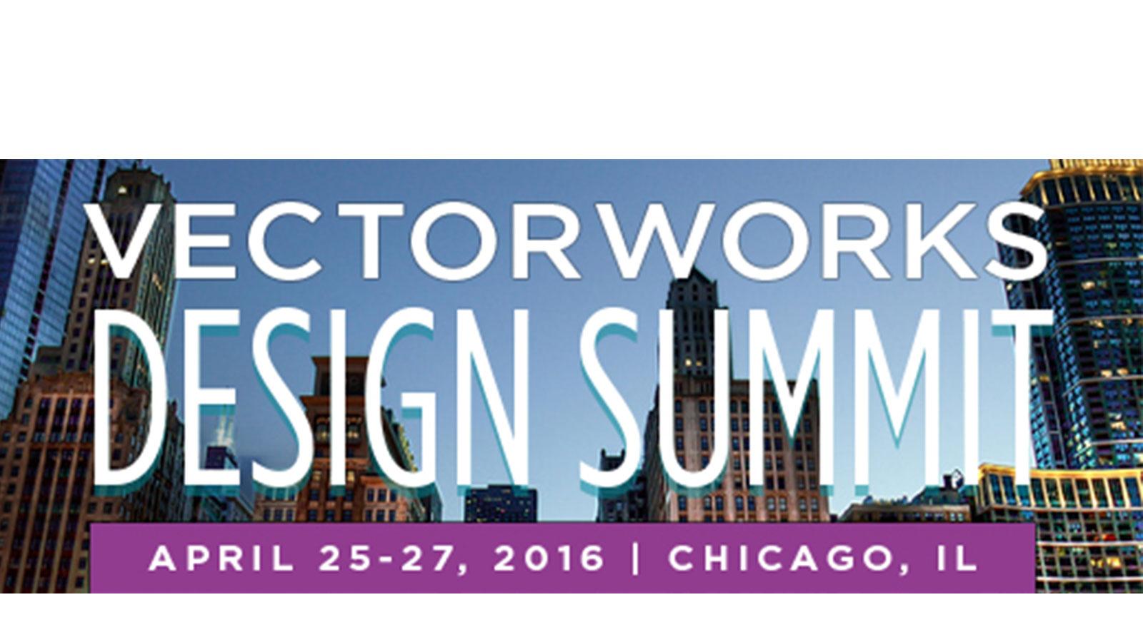 Asite are Headline sponsors of Vectorworks Design Summit, Chicago, USA.
