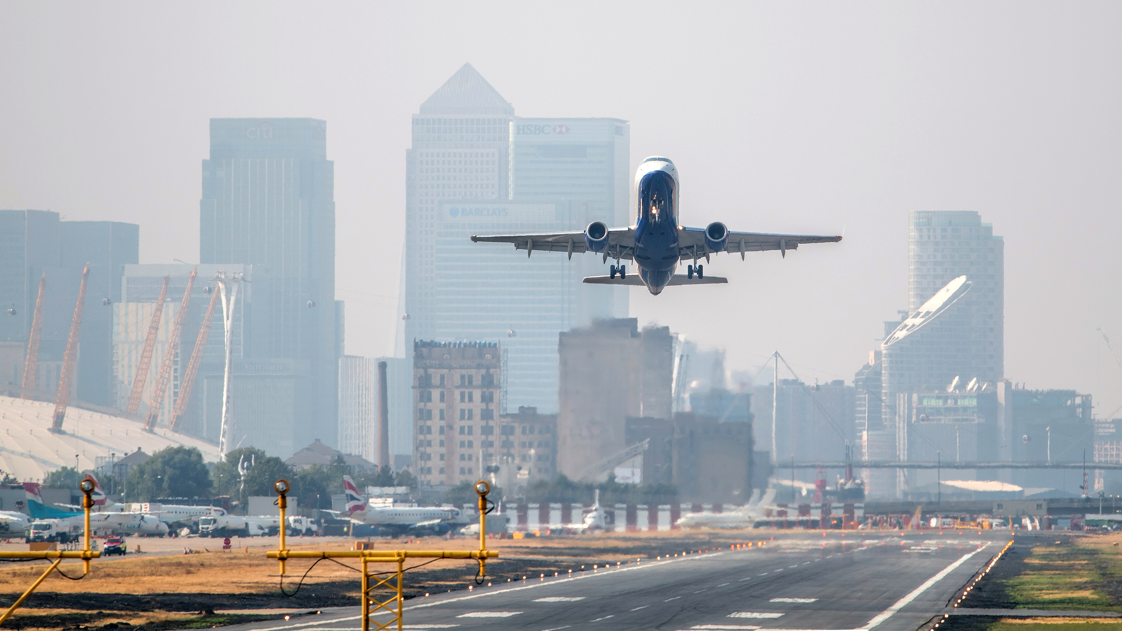 Expansion of London City Airport