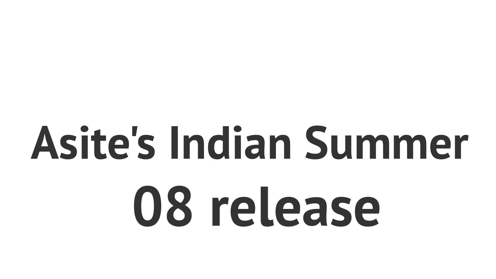 Asite's Indian Summer 08 release delivers Contract Management and Fully Customisable Forms via Microsoft InfoPath