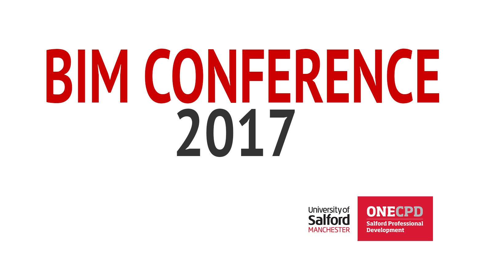 Join the ATeam at the BIM Conference 2017: Unlocking the potential of BIM