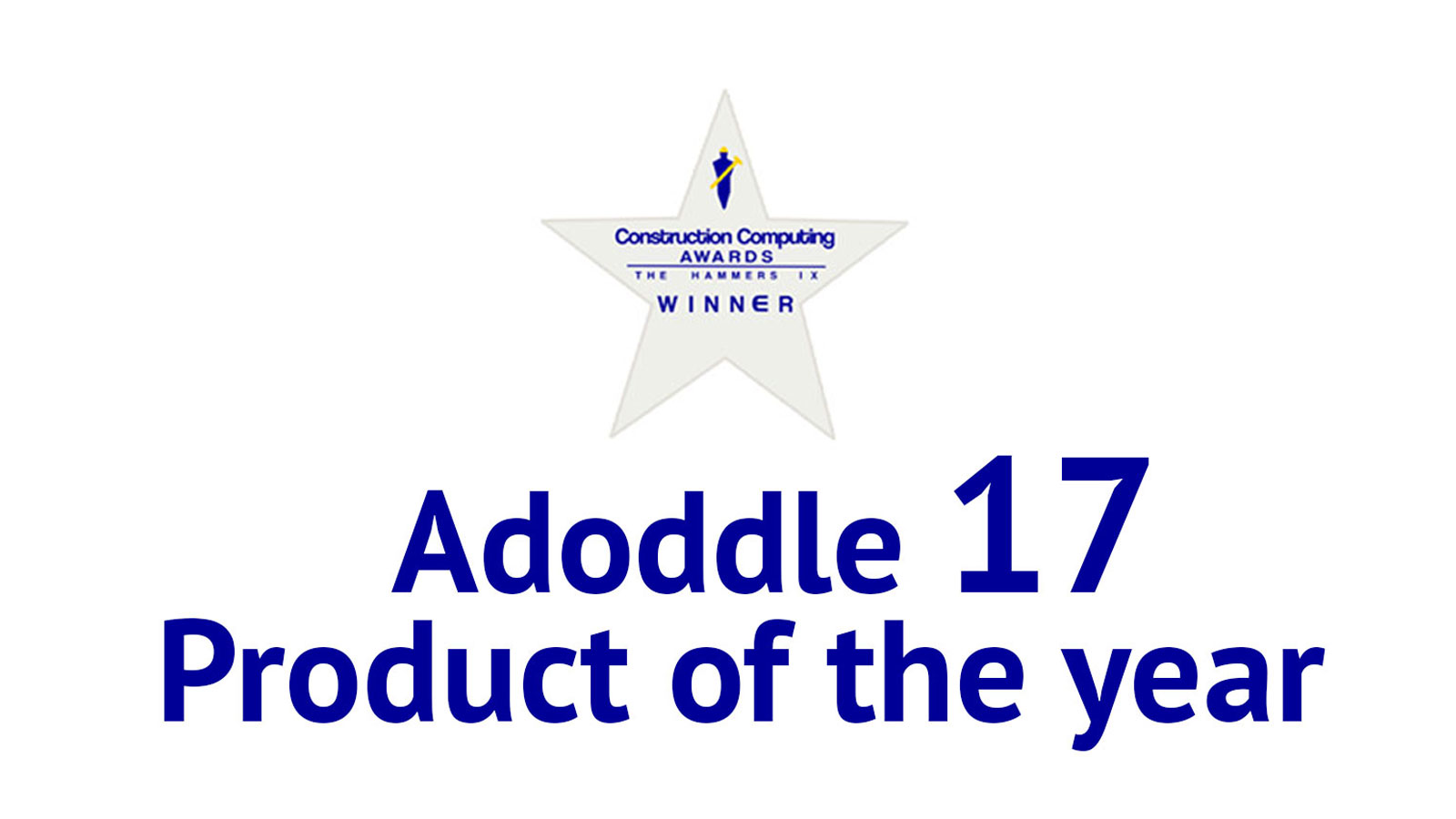 It's official… Adoddle 17 is Product of the Year and Document & Content Management Product 2014!