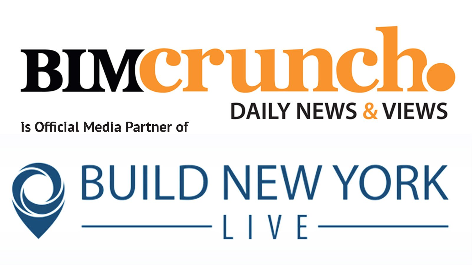 Build New York Live welcomes BIMcrunch on board as official media partner